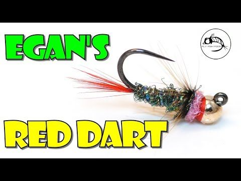 Egan's Red Dart by Fly Fish Food - YouTube