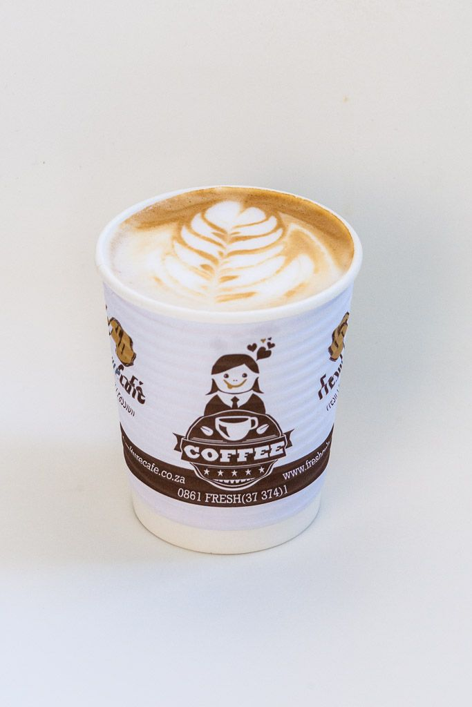 Fresh Culture Cafe Takeaway Cappuccino