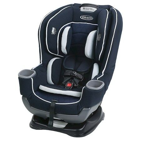 Second car seat: Graco Baby Extend2Fit 65 Convertible Car Seat