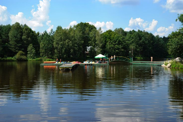 Grand Hotel has a pleasant location surrounded by lakes and forest :) #lake #forest #swim +freetime #holiday