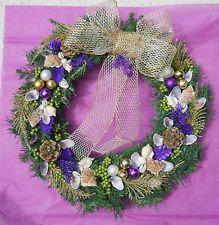Tropical Seashell Christmas Wreath