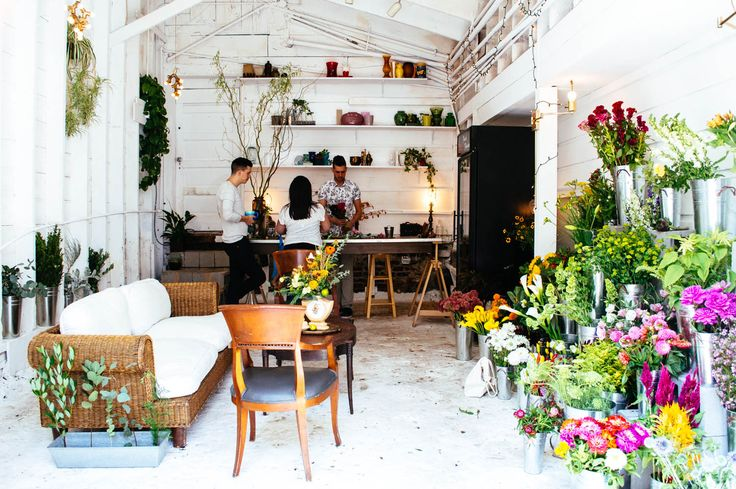 AMPERSAND FLOWER SHOP � SAN FRANCISCO