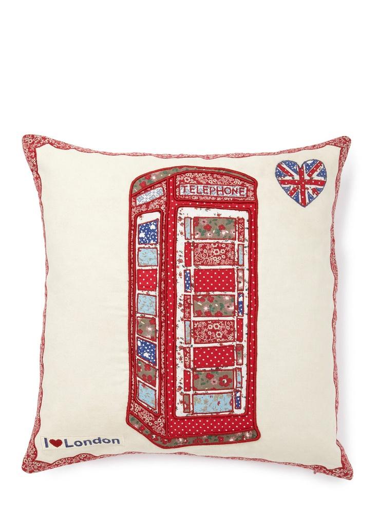 Patchwork Telephone Cushion  Price:£20.00