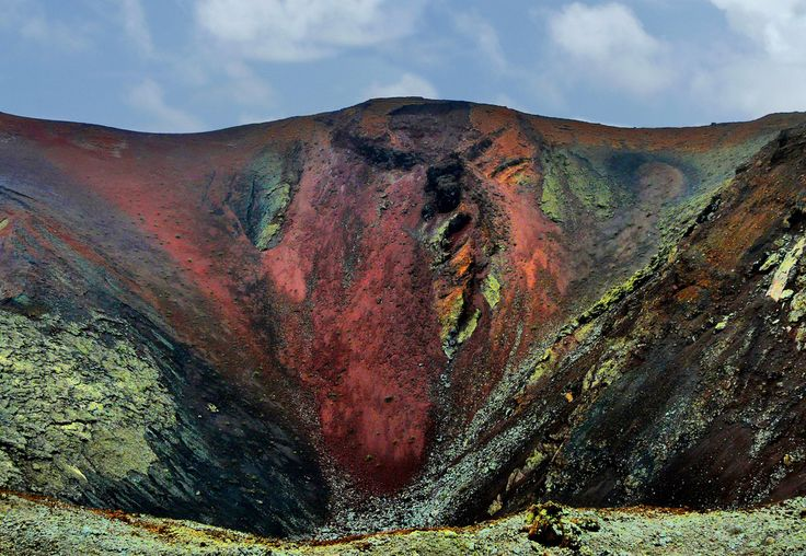 Timanfaya Craters, Lanzarote, Spain