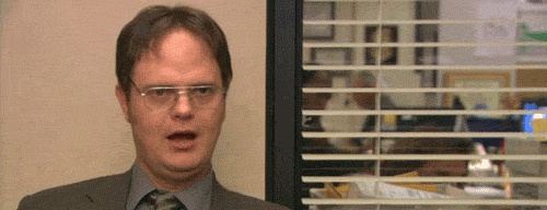 The Office GIFs: Bloopers  I love this because it shows that they really do enjoy working together!