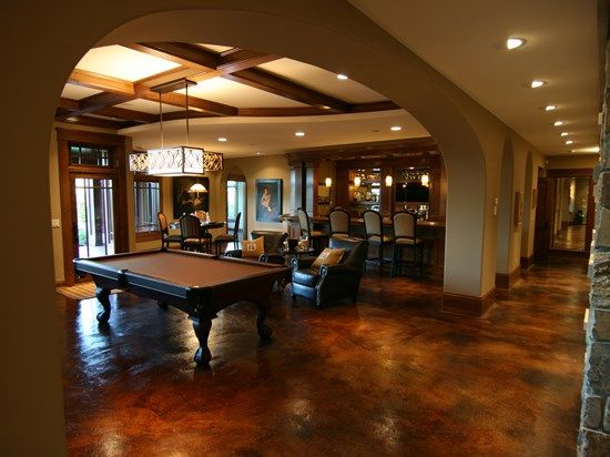 Cleaning and caring for stained concrete floors