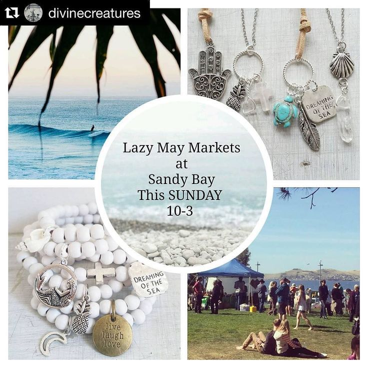 It will be Divine  @divinecreatures  Attention Tassie followers! >>--> We will have a small collection of our pendants and Jewellery at The Lazy May's Christmas Festival Market This SUNDAY 10-3 at SANDY BAY | Long Beach Parklands | Music Art Food and Good Vibes  @lazymaymarkets  #lazymaymarkets #sandybay #tassie #tasmania #markets #festival #goodvibes #jewellery #familyfun #christmas #bay #sundays by lazymaymarkets