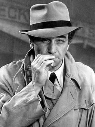 Peter Falk as Columbo a homicide detective with the Los Angeles Police Department