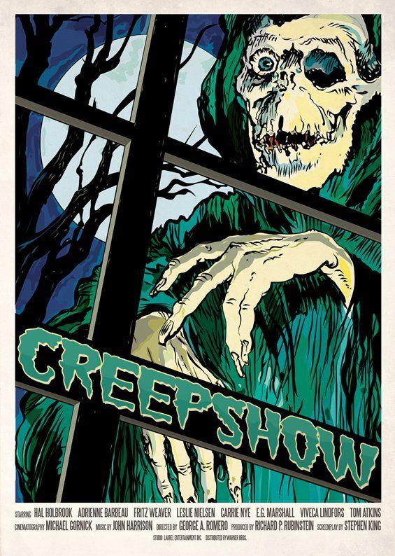 creepshow madamadaricom poster inspired by the 1982