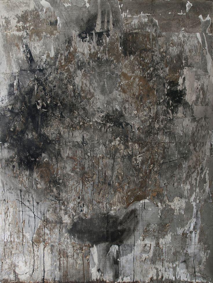 Toni R. Toivonen JONKIN ON HAJOTTAVA – SOMETHING MUST BREAK, 200 x 150, Rust, pigment, +original art work from 2013: iron, paper / The winner of 2014