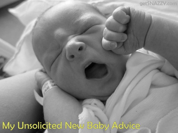My Unsolicited New Baby Advice #maternity #baby #mom @Jess- getSNAZZY.com .