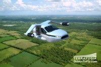 L'auto volante realizzata da #Terrafugia (FOTO)