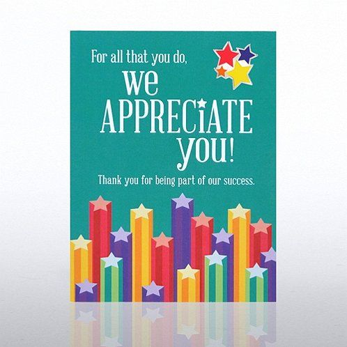 we appreciate you stars character pin team appreciation pinterest appreciation employee appreciation and appreciate you
