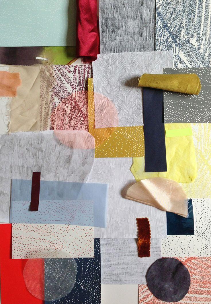 Textile pattern designs by Amanda & Matilda via Stockholm Furniture fair!