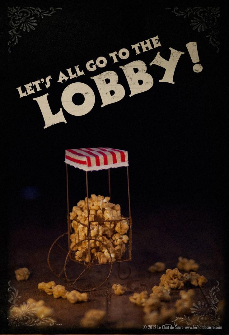 Caramel Popcorn @lechatdesucre.com