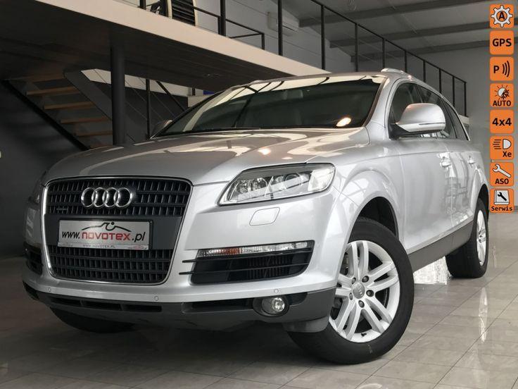 Audi Q7 - 3.0TDI*automat*7-osob.*218Tkm*serwisowany  w ASO*gwarancja VIP Gwarant  ogłoszenia motoryzacyjne http://auto-web.pl/
