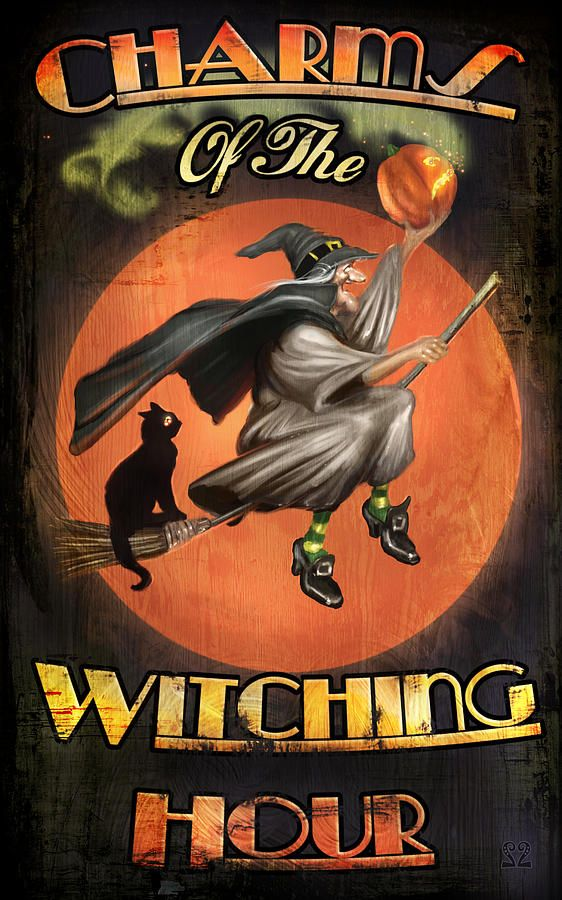 Charms of the Witching Hour Digital Art by Joel Payne - Charms of the Witching Hour Fine Art Prints and Posters for Sale