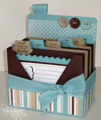 From the kitchen of. gift set recipe box