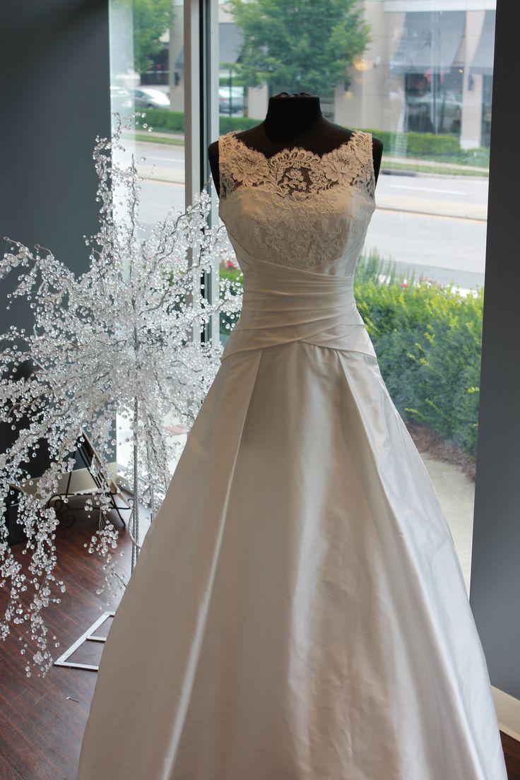 "Lea Ann Belter ""Emily"" (Bateau Neckline A Line Ballgown Wedding Dress)"