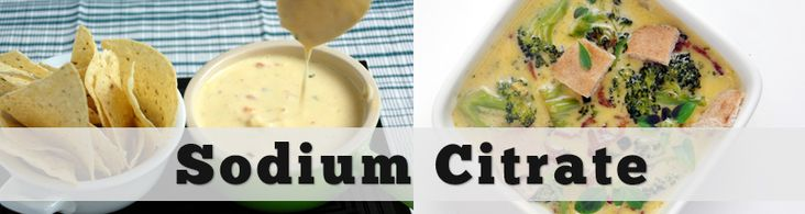 How to use sodium citrate