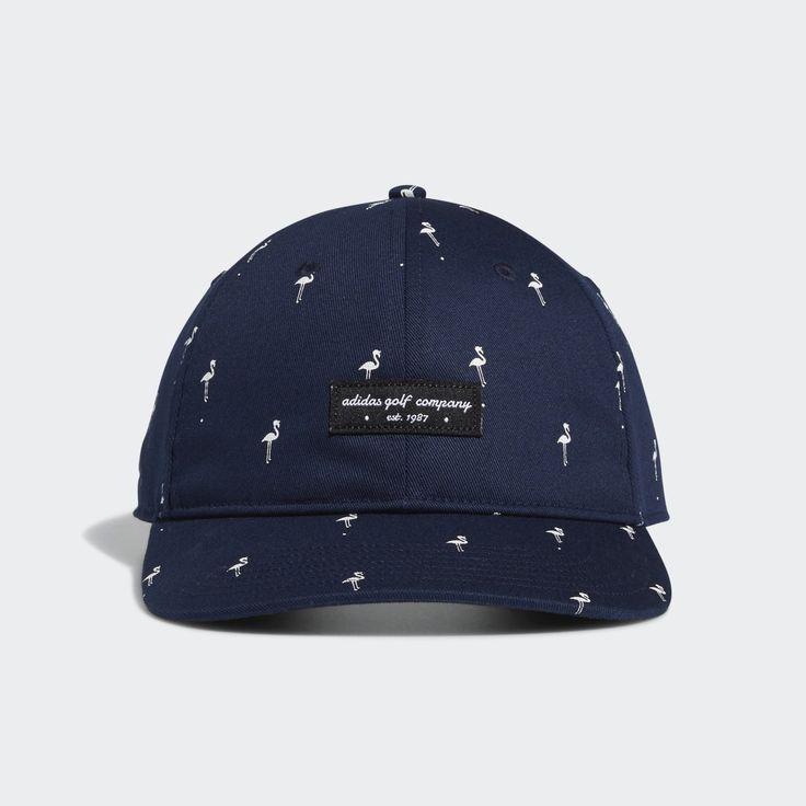 Adidas Golf Flamingo Print Hat Blue Adidas Us Flamingo Print Blue Adidas Hats
