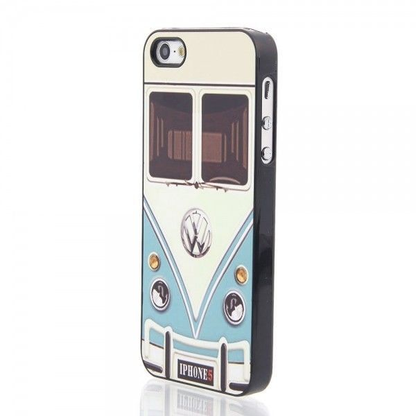 Back Case with Aluminum Sheet Cover for iphone 5 5s Cars Mini Bus Van Design #UnbrandedGeneric