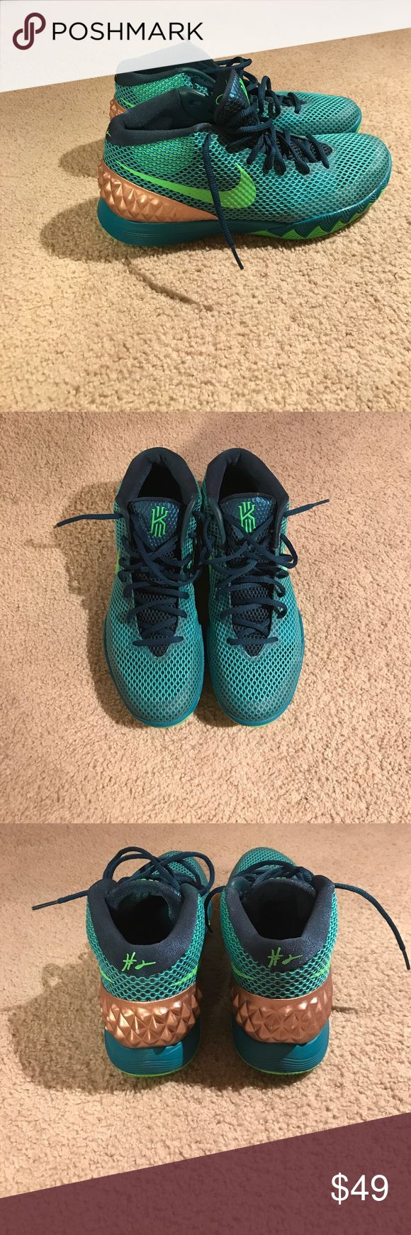 Nike Kyrie Irving Basketball Shoes Brand New Kyrie Irving Basketball Shoes. Worn once (didn't fit). Size 11. Will gladly negotiate price! Nike Shoes Athletic Shoes