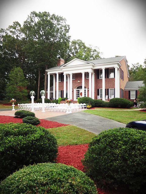 Swan Manor Monroe NC Vintage Wedding Event