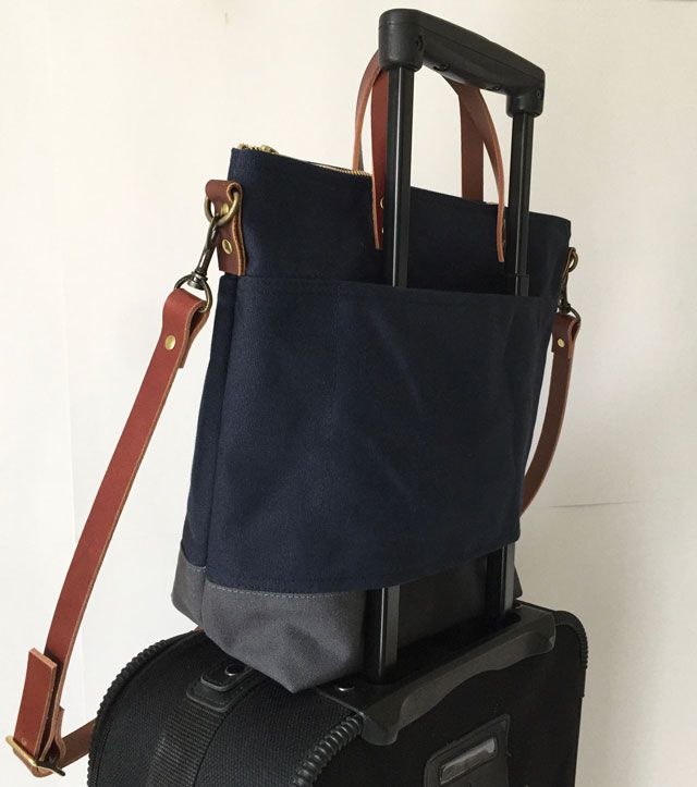 Modern Coup - Commuter Bag Custom luggage strap