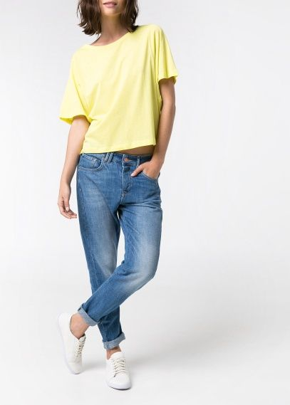 Angie boyfriend jeans by Mango. I like the fact they are not torn or distressed. Waiting for my order to arrive :)