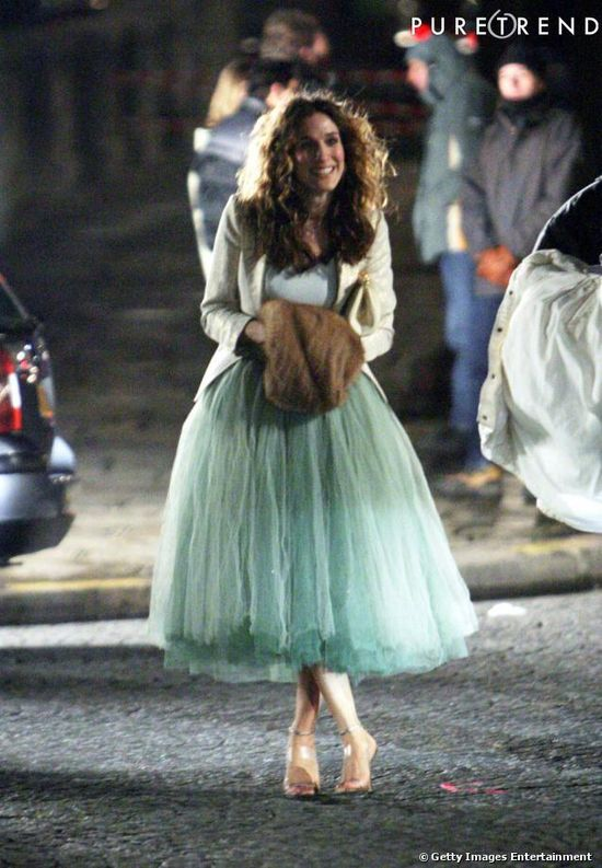 Carrie Bradshaw, helped develop my love for tulle and shoes.
