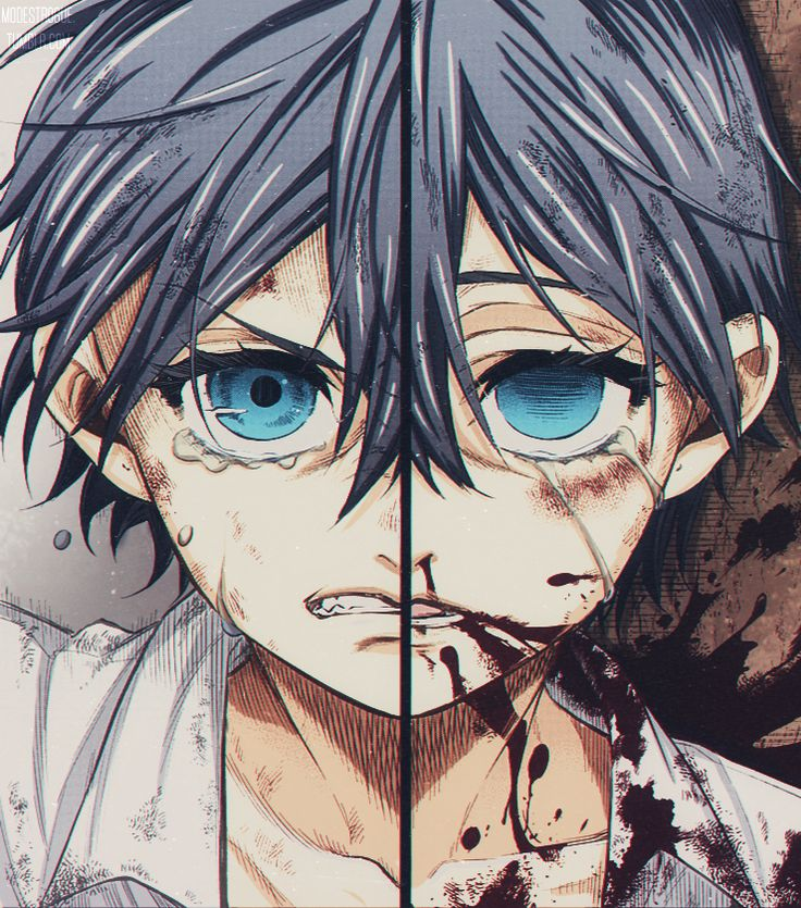 "modestrogue: "" Twins Phantomhive manga ""BLACK BUTLER"" color by @modestrogue """