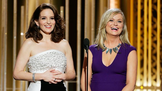 "The role of awards-show host is largely defined by the opening, and by that measure, Tina Fey and Amy Poehler look destined to finish their three-year Golden Globes stint on a high. Deftly capturing some of the inside-baseball quirks of the event while still playing beyond the room, their introductory bit cleverly hit on obvious targets – from ""The Interview"" to Bill Cosby – while addressing the talent in attendance and Hollywood foibles without sounding either mean-spirited or (worse) ..."