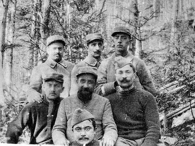 Le vieil Armand 1915 - La liaison à Hartmannswillerkopf du 15.2 | Flickr - Photo Sharing!