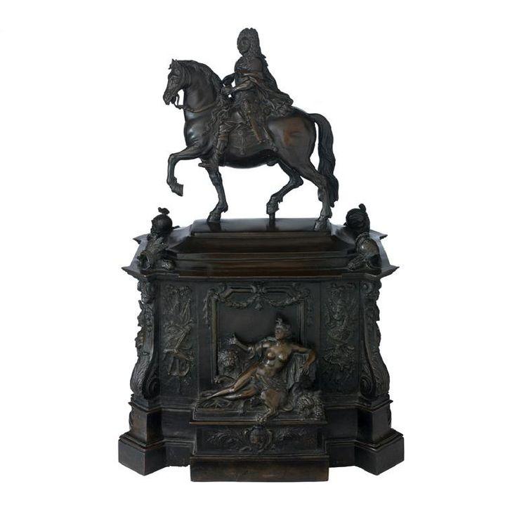 Nicolas Delacolonge, Monument équestre de Louis XIV à Lyon, Lyon,  1726. MAD 2275. Acquis en vente publique sur les arrérages du legs Bardey et Gonin, 1969. © Musée des Arts décoratifs de Lyon, Pierre Verrier
