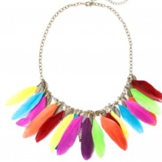 Bright, bold and totally beautiful is this statement necklace from lovisa! Beware if worn.... As everybody will comment on this piece of jewellery!! Loving it!!