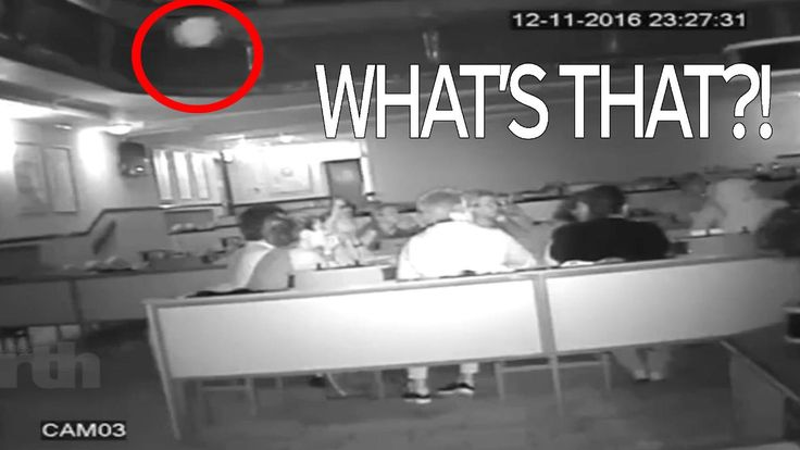 Video thumbnail, Spooky ORBS captured on CCTV at 'haunted' Bingo club in Bishop Auckland, County Durham