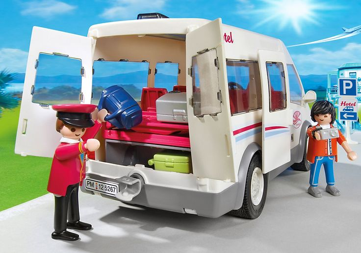 Mini-bus de l`hôtel - 5267 - PLAYMOBIL® France