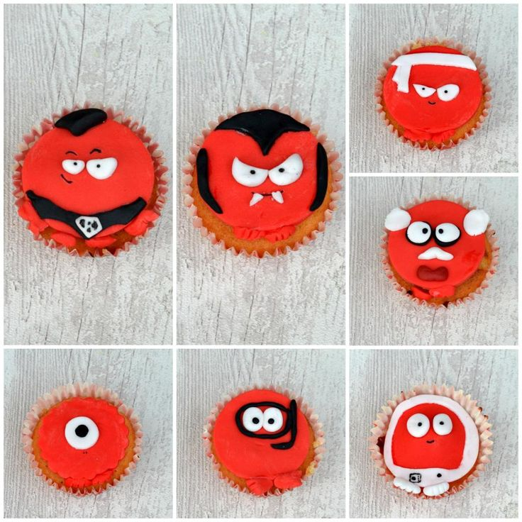 The Crazy Kitchen: Red Nose Day Cupcakes for Comic Relief #raisesomedough