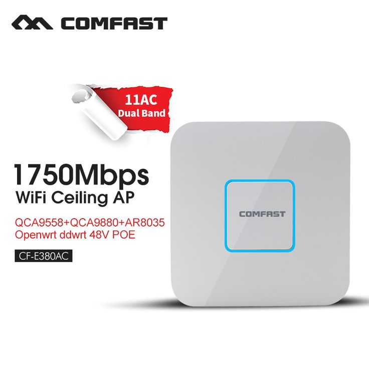 Access Point 48V poe Ceiling ap router 1750M Wireless 11 AC gigabit Router Dual Band 2.4G&5.8G AC Router WiFi Roteador CF-E380AC