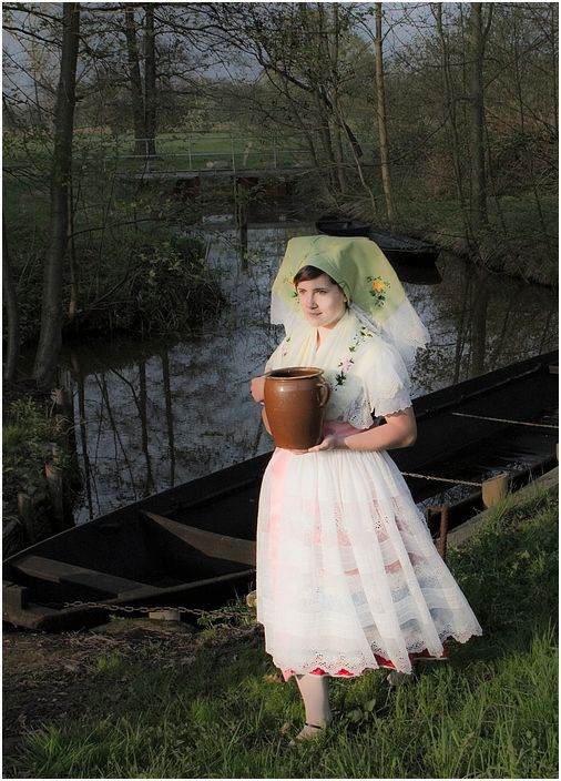 Tradition: 'Osterwasser' - easter water. Early in the morning, young girls will go out to a well or stream to fetch a jug of water. They are not allowed to speak. The sacred water will then be used for all sorts of blessings or spells.