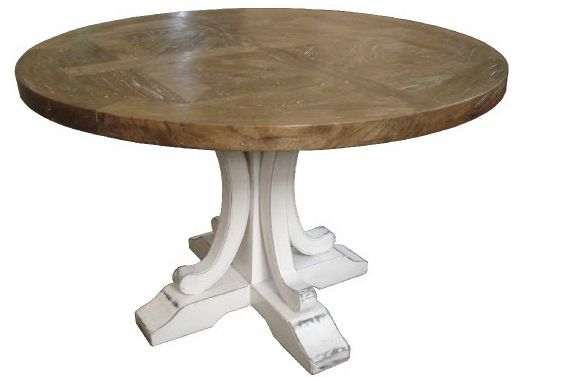 Interior Classics -  Hampshire Dining Table White   - 140cm round, $1,499.00 (http://www.interiorclassics.com.au/hampshire-dining-table-white-140cm-round/)