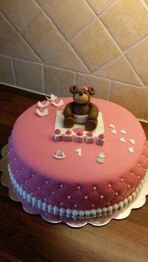 Bursdag kake til lita jente☺