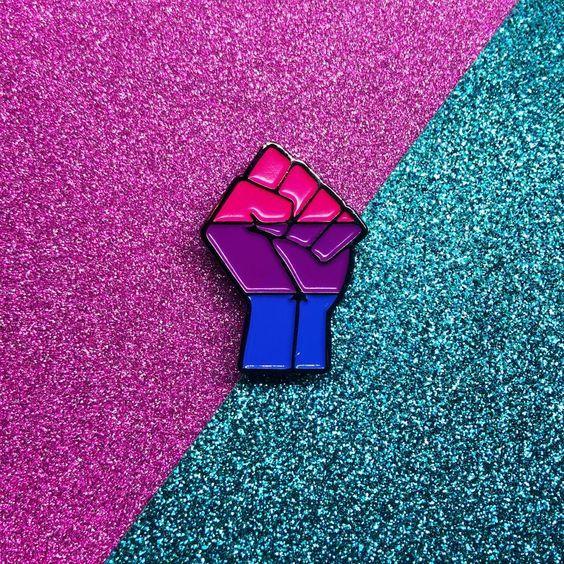 Bi Flag Aesthetic Wallpaper