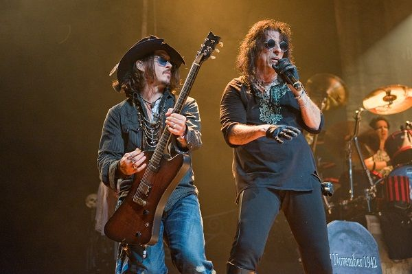 Johnny Depp's new role: Guitarist for Alice Cooper