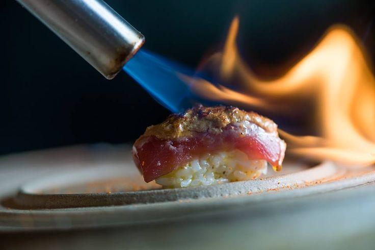 [Maçarico culinário para tostar peixe do Sushi]
