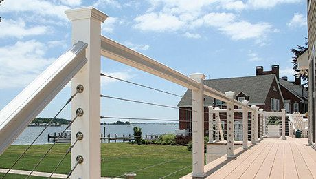 A look at lowmaintenance alternatives to wood Railings