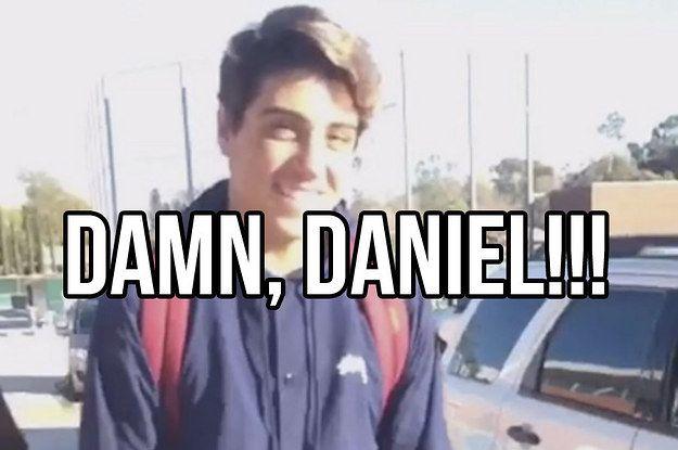 "…an official  remix… | ""Damn Daniel"" Has Turned A Teenager Into A Huge Meme"