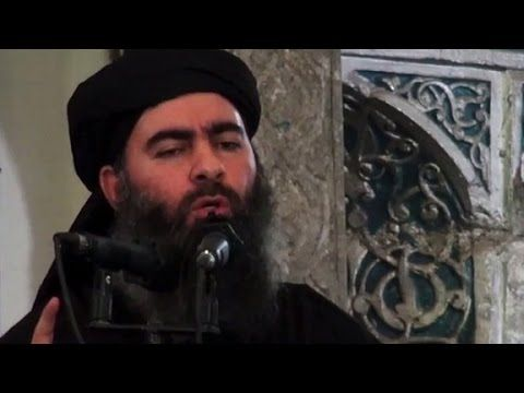ISIS leader Abu Bakr al Baghdadi in US crosshairs - YouTube