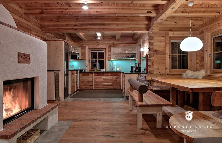 512 best Chalet images on Pinterest Cottages, Lodges and Chalets - Die Elegante Ausstrahlung Vom Modernen Esszimmer Design